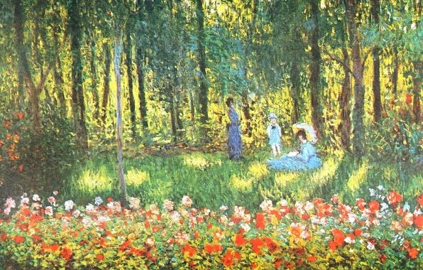 Wallpaper Landscape Picture Claude Monet Genre The