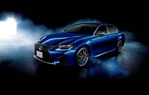 Picture blue, Lexus, sedan, Lexus, 2015