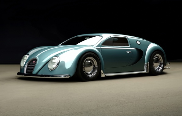 Picture Bugatti, Veyron, 1945, by_rc82_workchop