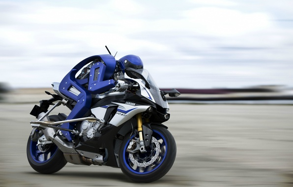 Photo Wallpaper R1M Yamaha R1m Robot Drone Test