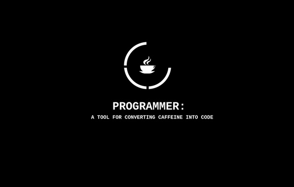 Picture cup, tool, cade, programmer