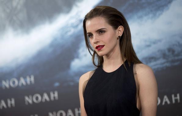 Picture look, movie, the film, actress, beauty, beauty, Emma Watson, Emma Watson, celebrity, premiere, actress, Noah, …