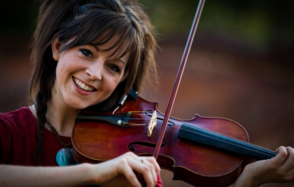 Picture violin, beauty, violin, Lindsey Stirling, Lindsey Stirling