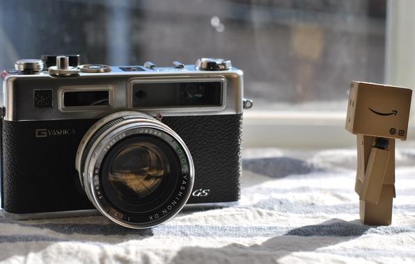 Picture macro, man, cameras