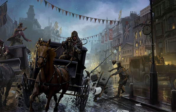 Picture Assassins Creed, Art, Syndicate, Syndicate, Ubisoft Quebec, Assassin's Creed: Syndicate, Assassin's Creed: Syndicate, Jacob Fry