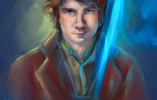 Picture art, The hobbit, The Hobbit, Bilbo Baggins, Bilbo Baggins