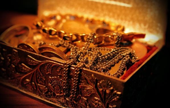 Picture gold, money, ring, gold, chain, treasure, wealth, money, treasure