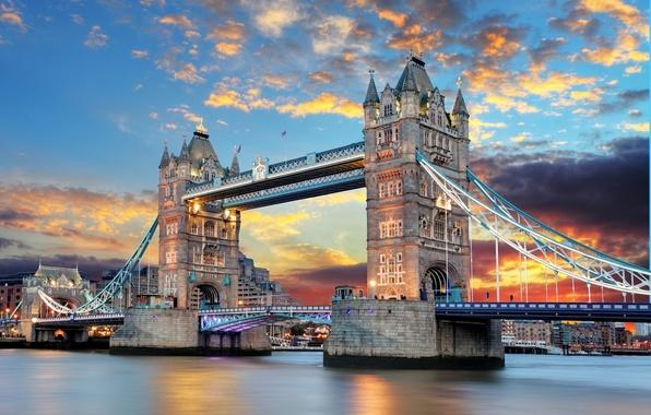 Picture England, London, Tower bridge, Tower Bridge, London, England, Thames River