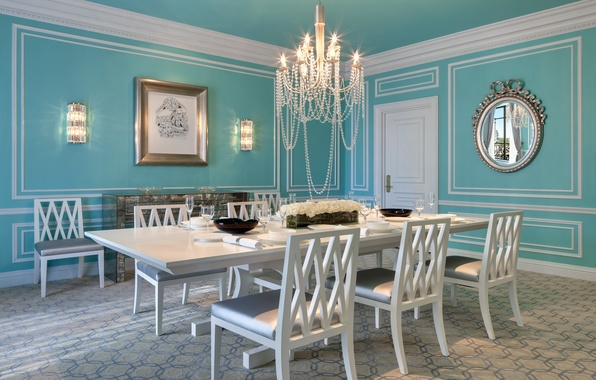 Wallpaper pictures dining room chairs mirror table for Dining room 640x1136