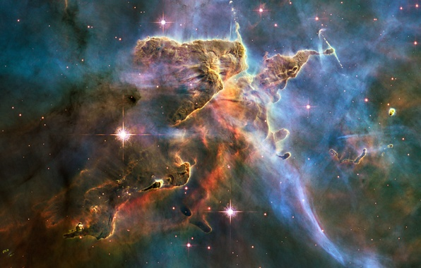Picture space, nebula, NASA, Hubble, starkiteckt