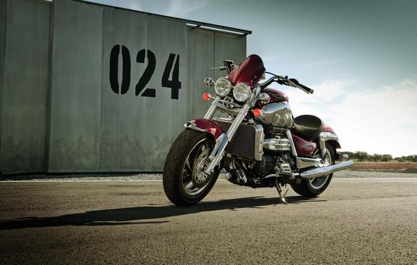 Picture Moto, Triumph, Rocket III