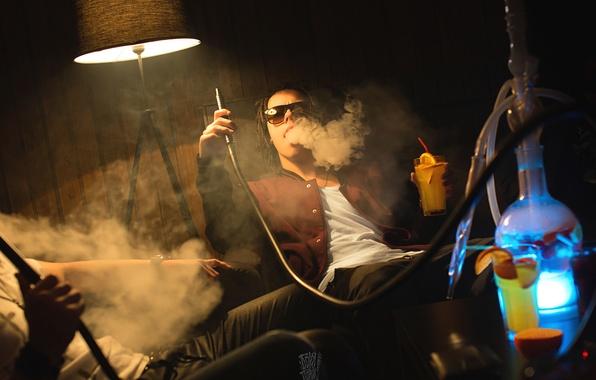 Picture hookah, smoke, photographer, photography, photographer, Borya Poroh, Boris Gunpowder