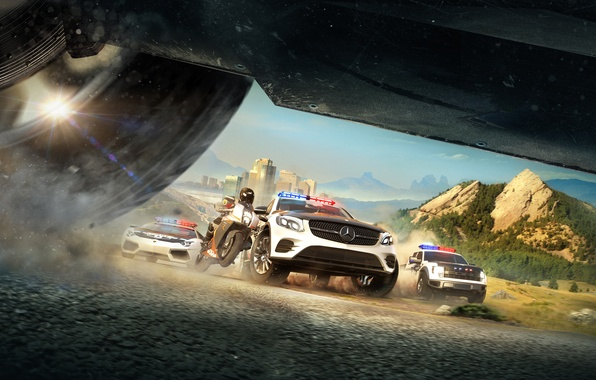 Picture Police, Cops, Machine, Motorcycle, Chase, Ubisoft, The Crew, Ivory Tower, Calling All Units, The Crew: …