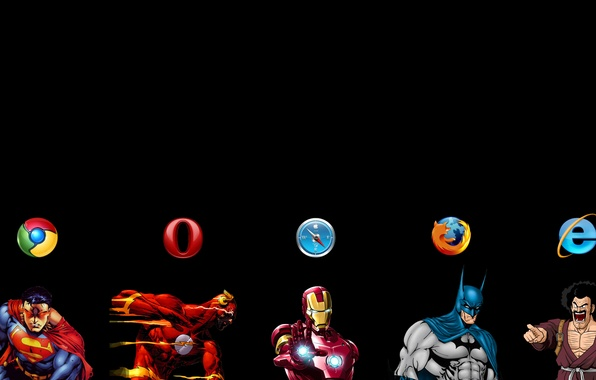 Picture firefox, opera, safari, chrome, browsers