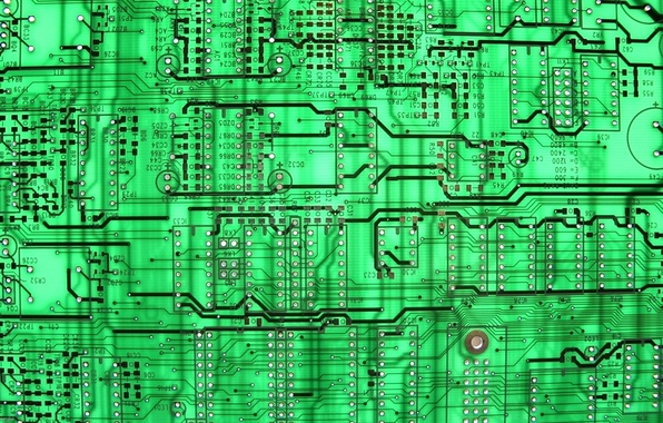 Picture green, background, circuit board