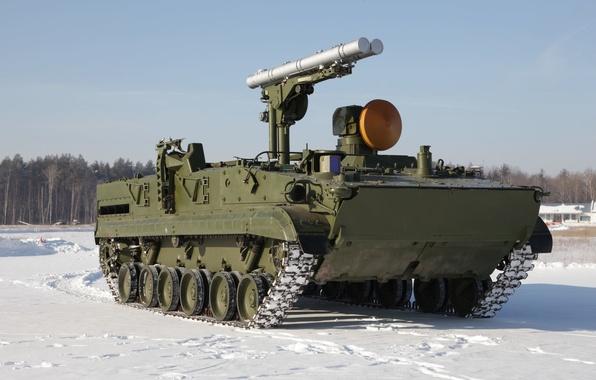 Picture rocket, complex, Chrysanthemum, self-propelled, anti-tank, 9P157-2
