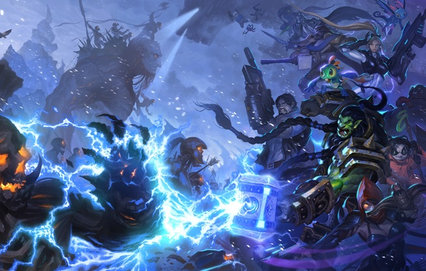 Picture starcraft, diablo, warcraft, arthas, Demon Hunter, Jim Raynor, Zeratul, Thrall, Heroes of the Storm, nova, …