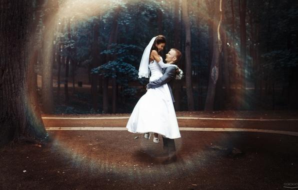 Picture girl, joy, happiness, the bride, photographer, the groom, Ivan Gorokhov
