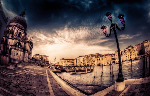 Picture the city, background, Venice