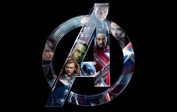 Picture iron man, Hulk, Thor, superheroes, the Avengers, The Avengers