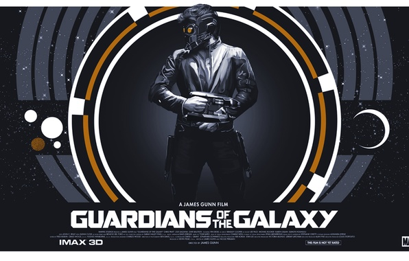 Picture poster, Guardians Of The Galaxy, Peter Quill, Star-Lord, Guardians of the Galaxy