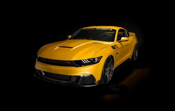 Picture Saleen, S302, yellow, 2015, Black Label