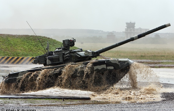 Picture army, tank, Russia, T-90 and