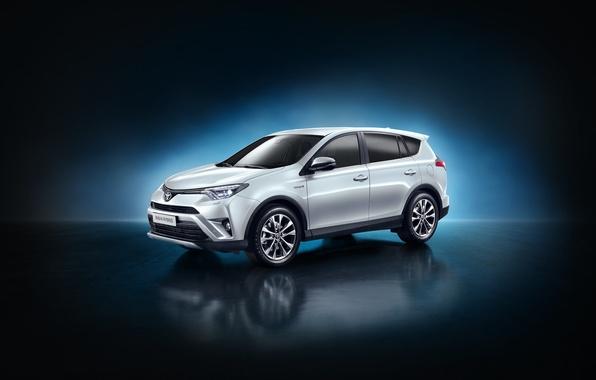 Picture Toyota, Hybrid, hybrid, Toyota, RAV4, US-spec, 2015, RAV4