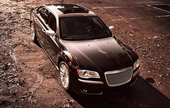 Picture Auto, Chrysler, Chrysler, Sedan, Series, 300, The front, Luxury