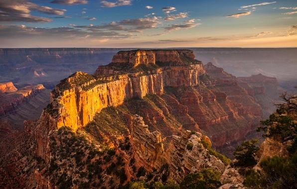 Picture mountains, nature, rocks, AZ, USA, The Grand Canyon