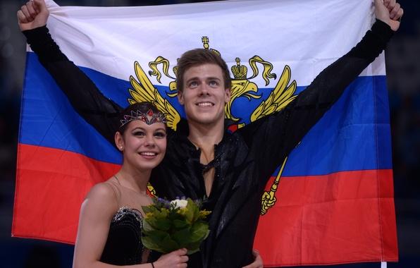 Picture figure skating, Russia, Sochi 2014, Nikita Katsalapov, The XXII Winter Olympic Games, Elena Ilinykh