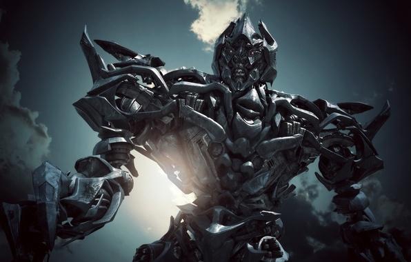 Picture transformers, robot, Megatron