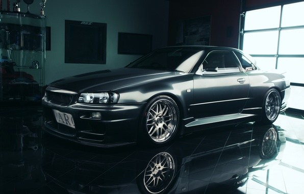 Picture tuning, nissan, GT-R, skyline, Nissan, R34
