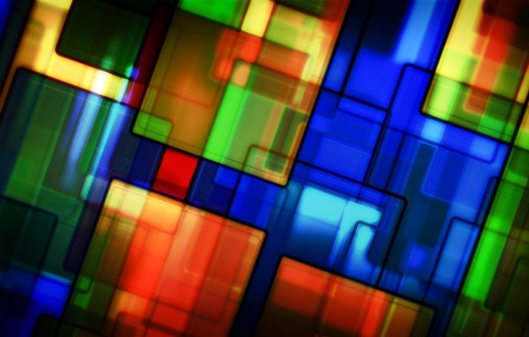 Picture line, pattern, paint, texture, stained glass
