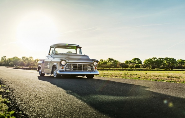 Picture car, Chevrolet, classic, Pickup, lunchbox photoworks, 3100 Series