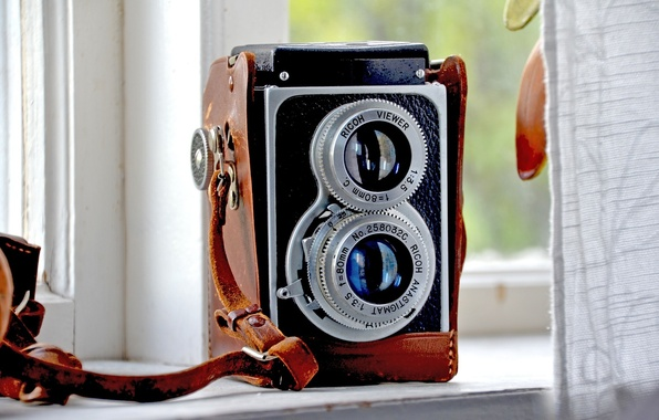 Picture retro, camera, the camera, old, ricoh