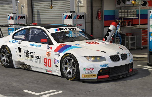 Picture graphics, BMW, art, GT2, dangeruss