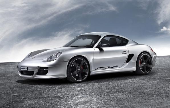 Picture Rinspeed, coupe, Porsche, Porsche, Boxster, 2007, Imola, bokster