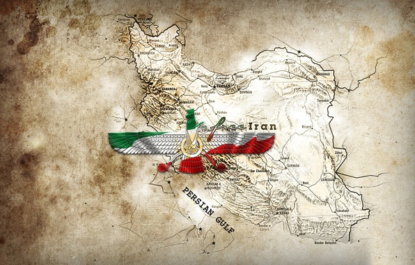 Picture Map, free, Iran, farvahar, Persian