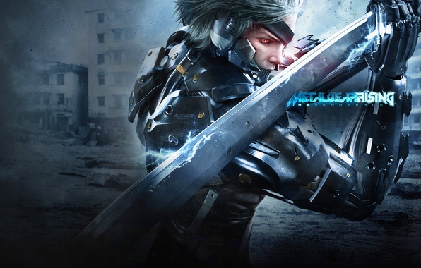 Picture Ninja, Metal Gear, Cyborg, Raiden, Rising, Metal Gear Rising: Revengeance
