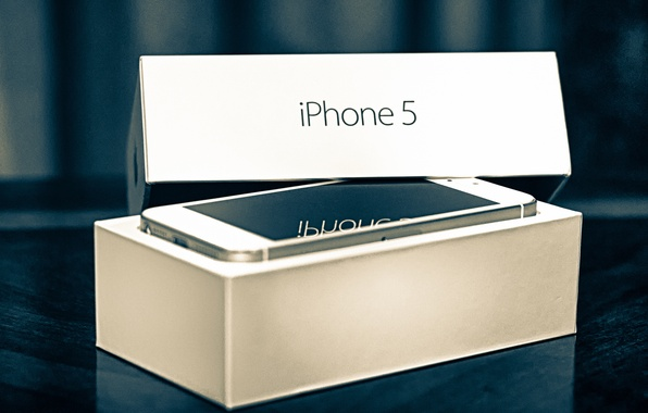 Picture box, Apple, phone, gadget, iPhone, iPhone 5