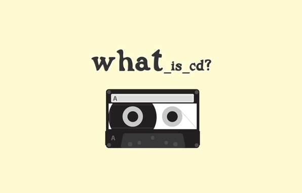 Picture yellow, cassette, question, film