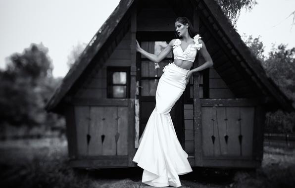 Picture girl, figure, waist, Daniel Ilinca, Nobody Lives, The House Where