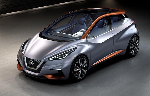 Picture Concept, the concept, Nissan, Nissan, hatchback, city, 2015, Sway