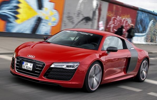 Picture Audi, Audi, speed, Prototype, car, e-Tron