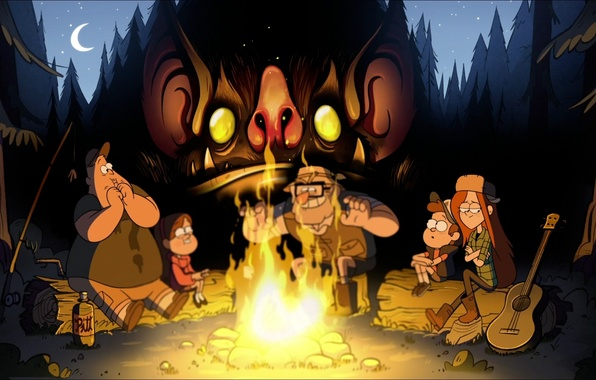 Picture Gravity Falls, Gravity Falls, Disney Television Animation, Gravity Falls