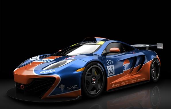 Picture McLaren, GTR, Gulf MP4 12C