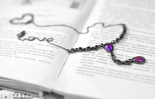 Picture purple, text, style, stones, background, Wallpaper, necklace, pendant, book, decoration, chain, owner, page, wallpapers, accessory