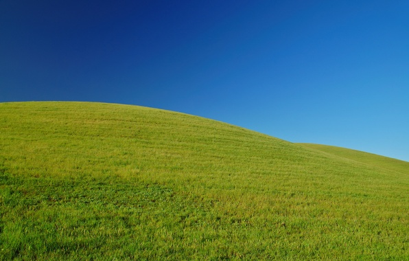 Picture greens, the sky, grass, mountains, nature, mood, hills, landscapes, field, positive, spring, freshness in