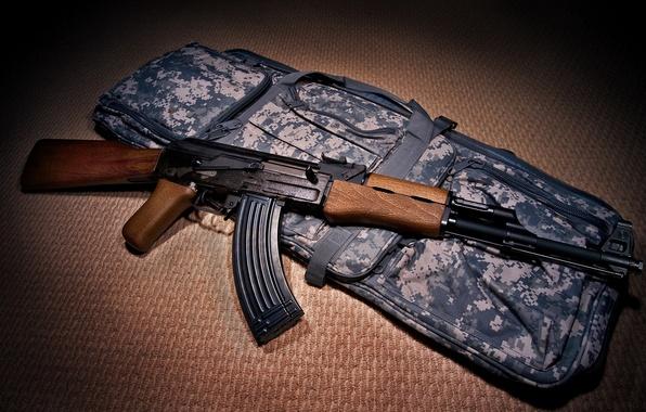 Photo wallpaper weapons, machine, AK-47 Assault Rifle